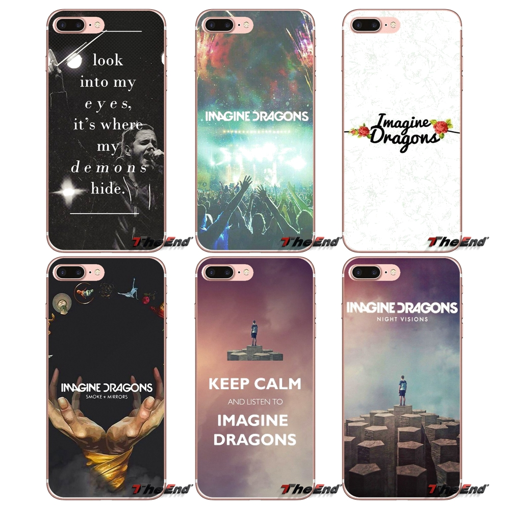 Active Rock Band Indie Concert Metal Clear Phone Case Cover Fits Iphone 5 6 7 8 X Cases, Covers & Skins
