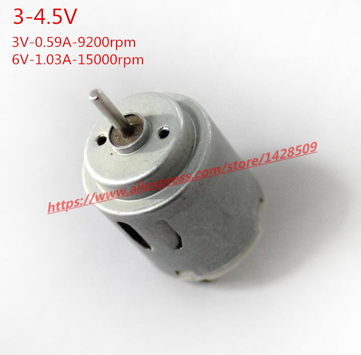 high-quantity single-shaft metal 3-4.5V DC motor 140 Micro DC Motor for Science and Technology Making remote control car