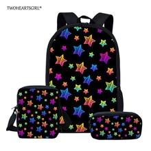 Twoheartsgirl Children School Bags set for Girls and Boys Or