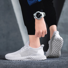 2019 fly woven mens shoes sports and leisure running wild summer breathable