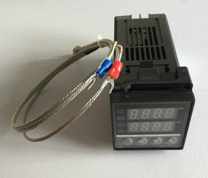 PID Digitaler Temperaturregler REX-C100FK02-V * EINE mit 1 Mt thermoelement K ssr-ausgang