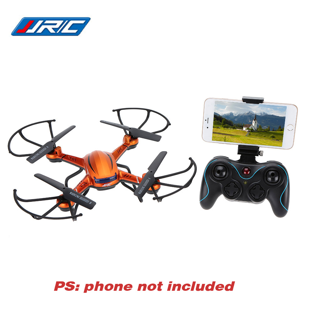 Hot JJRC H12W 4CH 6-Axis Gyro Wifi FPV RC Drone with 2.0MP HD Camera Headless 3D Roll Function Using Smart Phone as Transmitter jjrc h5p transmitter
