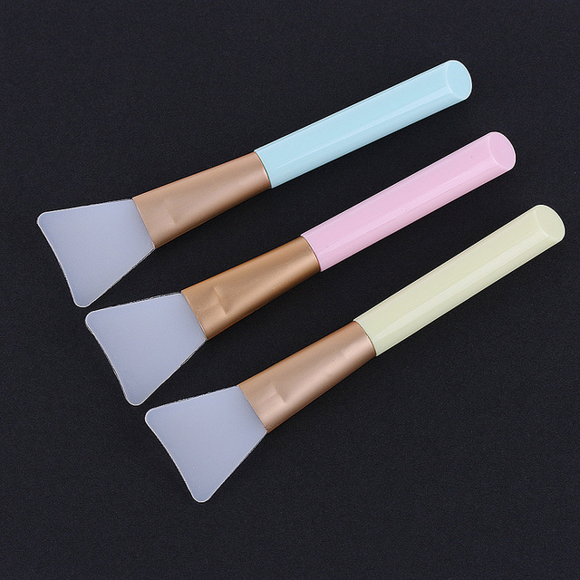 1Pc New Arrivals!! Multi-choice Fashion Protable Professional Silicone Facial Face Mask Mud Mixing Skin Care Beauty Makeup Brush Makeup Brushes