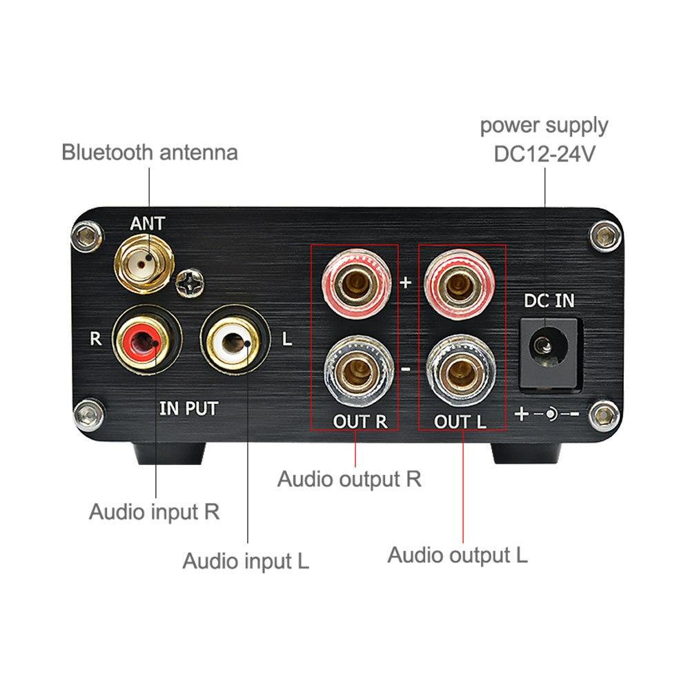AIYIMA TPA3116 amplificateur Audio numérique amplificateur 2.0 HIFI Bluetooth 4.2 classe D stéréo haute puissance ampli 100W * 2 Home cinéma-in Amplificateur from Electronique    3