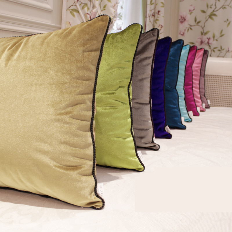Velvet Luxurious Cushions (without Inner)decorative Throw Pillows Sofa Home  Decor Housse De Coussin Funda Cojin In Cushion From Home U0026 Garden On ...