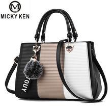 Contrast Color Luxury Handbags Women Bags Designer Shoulder Bag