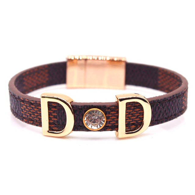 DD Leather Bracelet Hand...