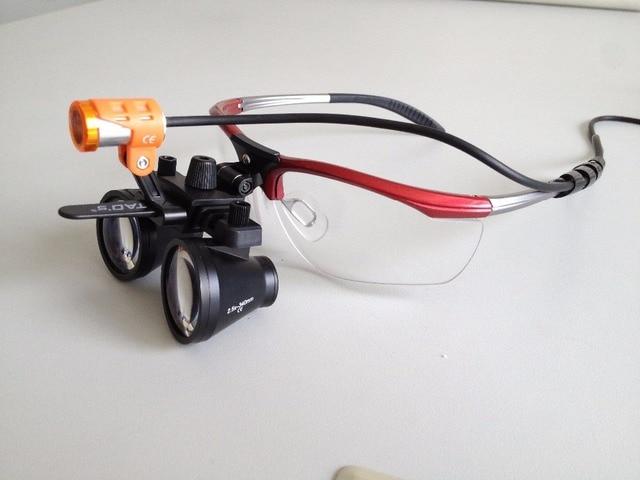 886ca491cd33 TAO S 2.5X alibaba china dental Loupes Binocular Galileo Lens Glasses  magnifier 2.5x Surgical dental Loupes + LED headlamp light