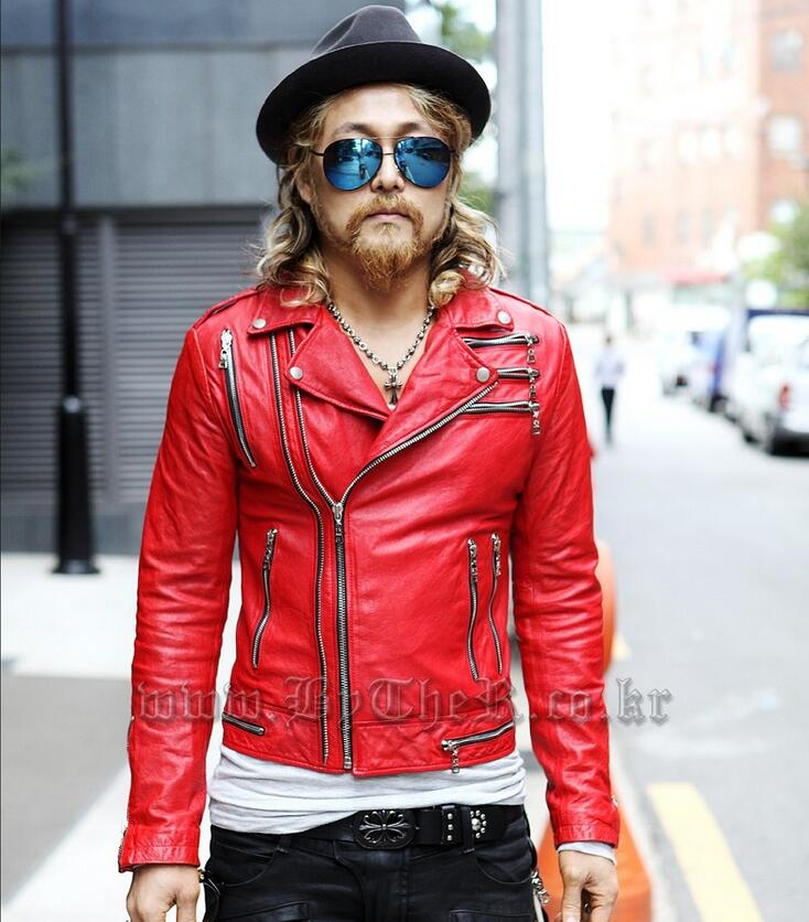 Popular Red Punk Jacket-Buy Cheap Red Punk Jacket lots from China ...