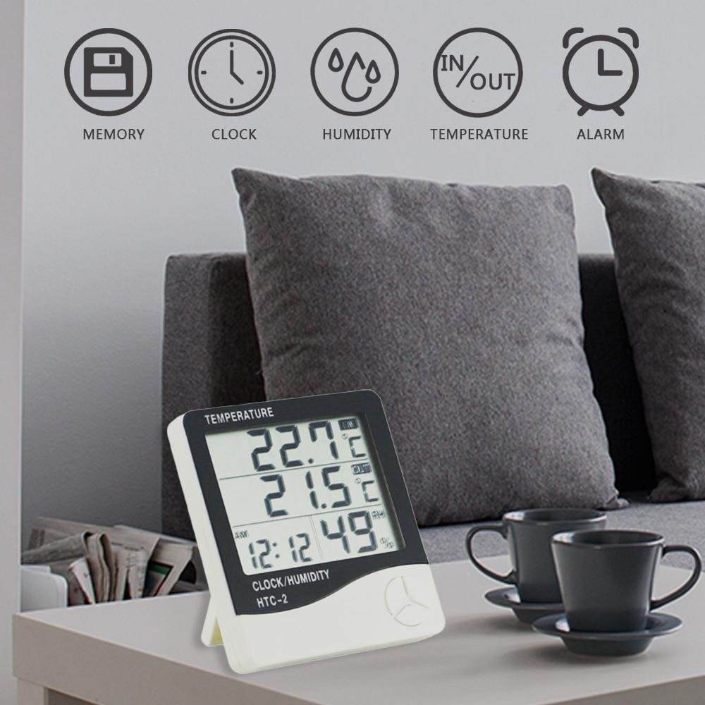 Wetter Station Htc 2 1 Indoor Outdoor Thermometer Hygrometer Hot Empfehlen