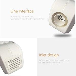 Image 4 - المحمولة CPAP المطهر للهواء CPAP آلة أنابيب خرطوم قناع جهاز تنفس مع بطارية تعمل توقف التنفس أثناء النوم