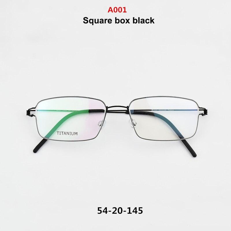 US $26 24 25% OFF 2019 brand TAG glasses frame titanium Retro myopia  computer optical frame nerd metal eyeglasses women men oculos de grau  vintag -in