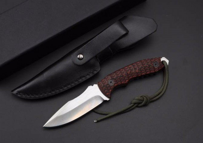 Buy Elaborate D2 Steel Hunting Fixed Knives,G10 Handle Camping Survival Knife,Tactical Knife. cheap