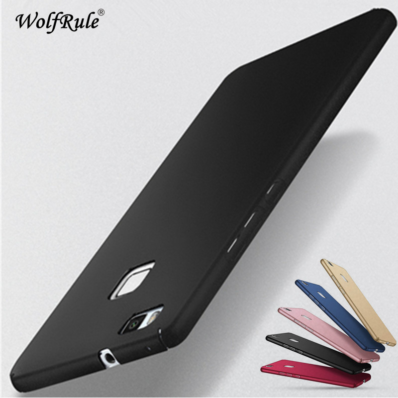 WolfRule Phone Case Huawei P9 Lite Cover Ultra-thin Back Protection Plastic Case For Huawei P9 Lite Case Huawei G9 lite 2016