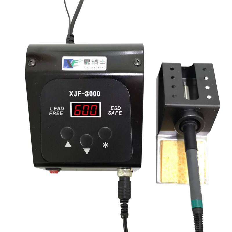 XJF3000 150W DC Digital Lead-free Soldering Station High Frequency Eddy Current Temperature Adjustable