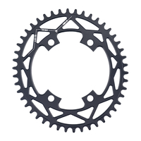 PASS QUEST X110 / 4 BCD 110BCD Oval Road Bike Narrow Wide Chainring 42T 52T For R2000 R3000 4700 5800 6800 DA9000