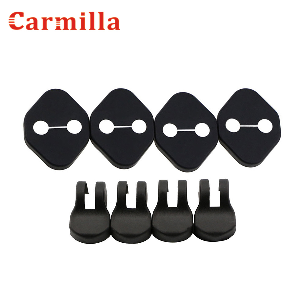 Car Door Lock Decoration Cover Car Covers Door Stopper Protection Cover Fit For Honda FIT CITY Crosstour CR-V CRV CIVIC