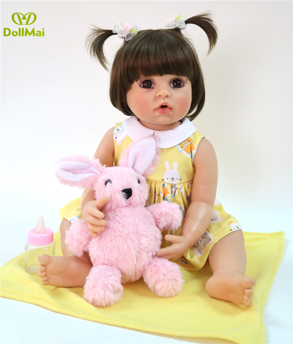 55cm full silicone Reborn Baby Doll For Sale Lifelike Baby Alive Doll Kids Playmate model baby Xmas Gift bathe toys play house55cm full silicone Reborn Baby Doll For Sale Lifelike Baby Alive Doll Kids Playmate model baby Xmas Gift bathe toys play house