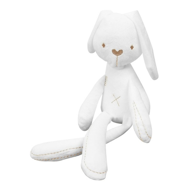 Baby Rabbit Comfort Toy Daughter And Sons Little White Rabbit