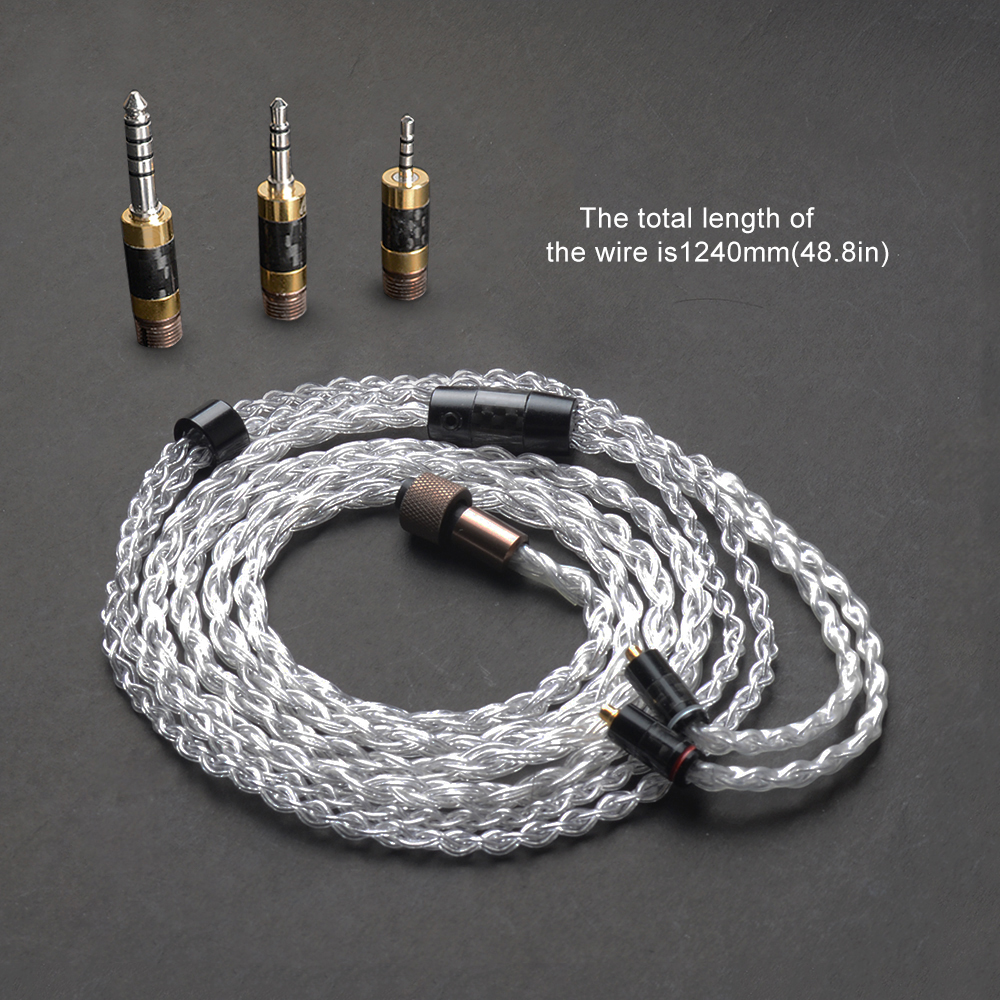 OKCSC Multifunction The Awesome Plug Adapter HiFi Cables Kit Sets 4 4mm 2 5mm Balance Jack