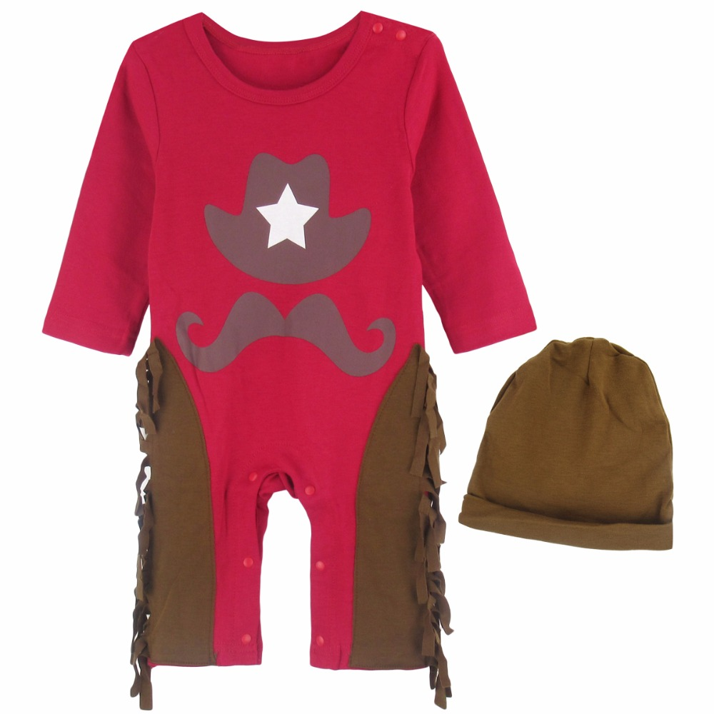 Baby Boys cowboy romper costume infant toddler Cosplay clothing set event birthday outfits For Newborn Bebe Clothing-in Clothing Sets from Mother u0026 Kids on ...  sc 1 st  AliExpress.com & Baby Boys cowboy romper costume infant toddler Cosplay clothing set ...