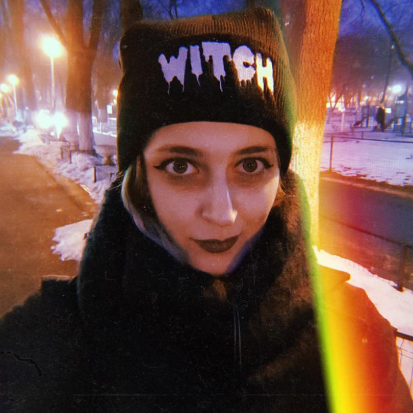 Letter Witch Embroidery Hip Hop Punk Hats Autumn W