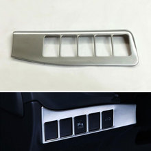 Car Interior ABS Headlight Fog Light Switch Control Trim Cover Panel Frame Deocration For Outlander 2016 Car Styling
