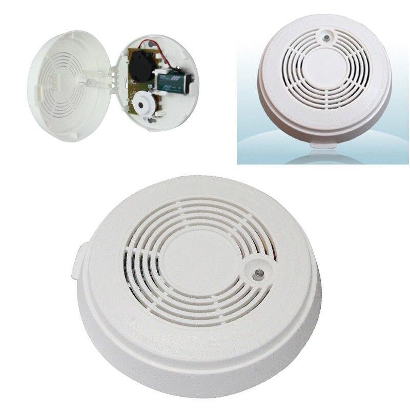 Dossy Combination Smoke&Carbon Monoxide Alarm CO &Smoke Detector 9V Battery