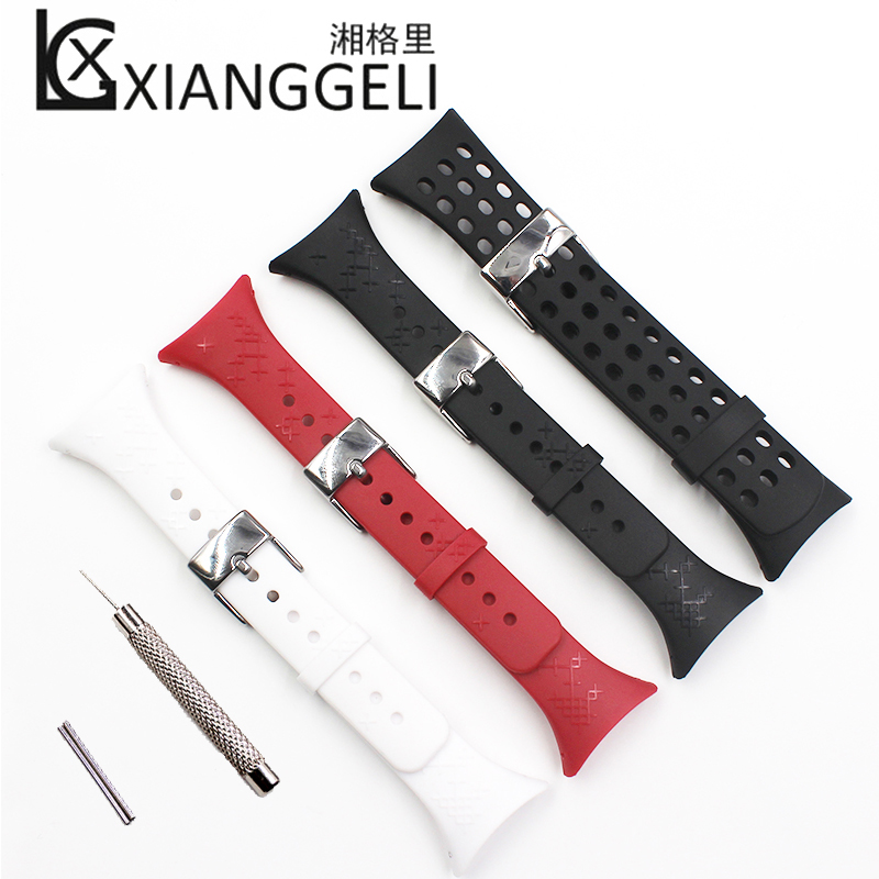 Watch Accessories Rubber Strap Men's or Women's Watches For Suunto M1 M2 M4 M5 Watch With Outdoor Sports Tape