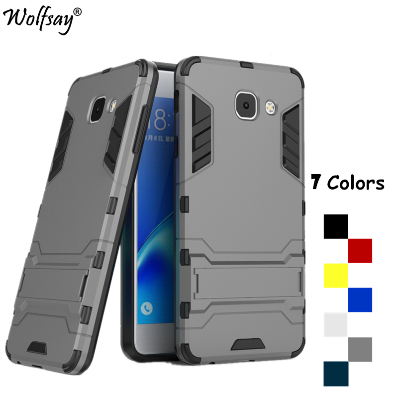 Wolfsay For Cover Samsung Galaxy J7 Max Case Silicone Robot Armor Phone Case sFor Samsung Galaxy J7 Max Case For Galaxy J7 Max