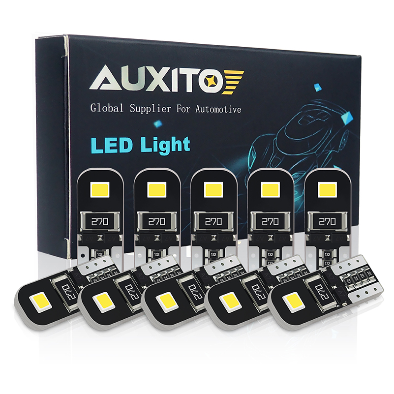 AUXITO W5W T10 LED Canbus Bulb For <font><b>Ford</b></font> Focus 2 3 Fiesta MK2 MK3 Mondeo MK4 <font><b>Fusion</b></font> Ranger Car Interior Dome Light Reading Lights image