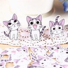 38 шт. аниме кошки на каждый день бумажные наклейки s ремесла и скрапбукинг наклейки s детские игрушки декоративная наклейка на книгу DIY канцелярские принадлежности