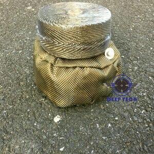 Image 5 - 2x50Ft Titan Motorrad Auspuffrohr Wrap Auto Abgaskrümmer Wärme Beständig Wrap 8 Pcs Kabel Krawatten