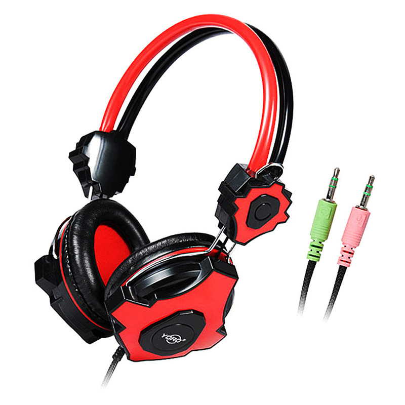 2016 good quality stereo bass game gaming music headphones headset with microphone for pc. Black Bedroom Furniture Sets. Home Design Ideas