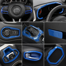 Lsrtw2017 Abs Car Central Control Dashboard Trims Gear Panel Eletronic Brake for Jeep Renegade