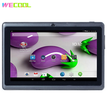 7 inch WeCool Q88 WIFI Tablet PC Allwinner A33 chip Dual Cameras Android 4.4 OS 8GB Memory Cheapest Quad Core Tablet for Kids