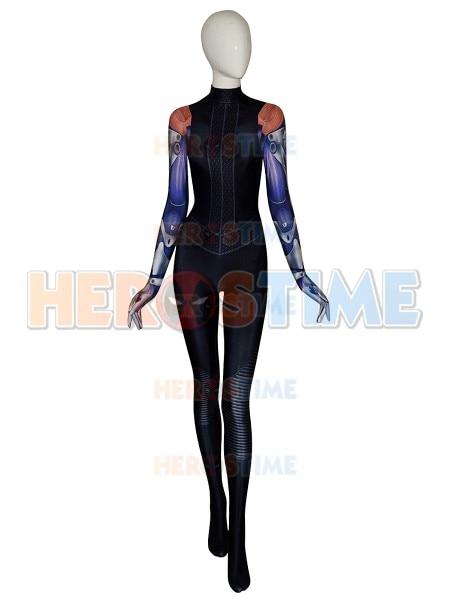 2019 New Battle Angel Alita Suit 3D Printed Alita Cosplay Costume Spandex Halloween Zentai Bodysuit For