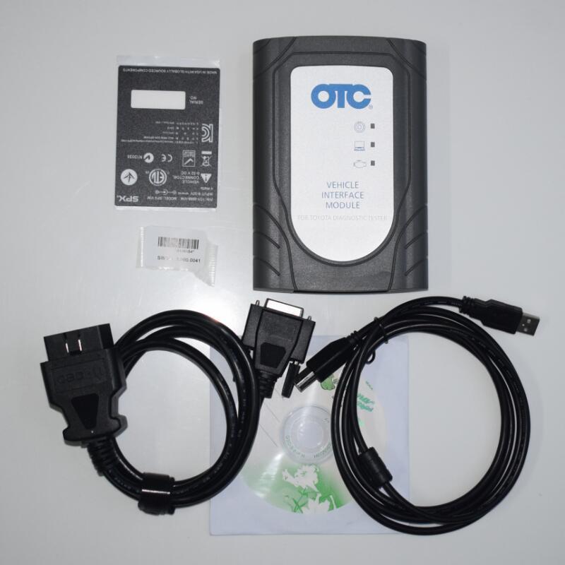 for TOYOTA OTC Latest 13.00.022 Global Techstream GTS OTC VIM OBD Scanner OTC Scanner for Toyota IT3 software in cf-52 laptop 4g