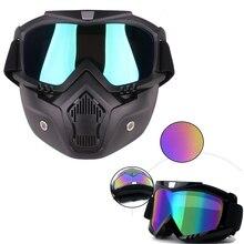 New Arrival Men Women Motocross Goggles Mask Visor Ski Snowboard for Motorcycle Helmet Glasses Moto Casque Casco Gafas