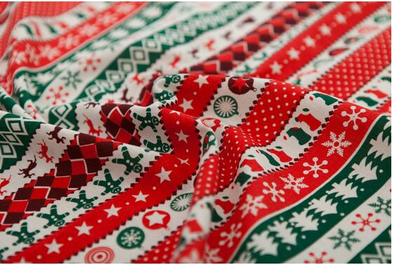 Online Get Cheap Retro Christmas Fabric -Aliexpress.com | Alibaba ...