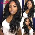 7a Raw Indian Virgin Hair Body Wave 3Bundles Natural Black Remy Human Hair Extensions Full Indian Body Wave Virgin Hair For Sale
