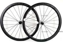 EVO 38Mm Độ Sâu Đường Xe Đạp Phanh Đĩa Carbon Bánh Xe 25 Rộng Băng Vệ Sinh Dạng Cyclocross Carbon Wheelset Với Trung Tâm Khóa Đĩa phanh Các Đầu Mối