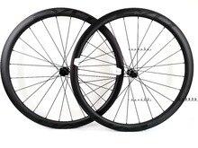 EVO 38mm profondeur vélo de route frein à disque carbone roues 25 largeur Tubeless cyclocross carbone roues avec moyeux de frein à disque de verrouillage central