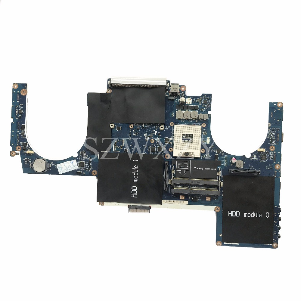 Excellent For Dell Alienware M17x R4 Laptop Motherboard La-8341p Cn-0thtxt 0thtxt Thtxt Ddr3 100% Working The Latest Fashion