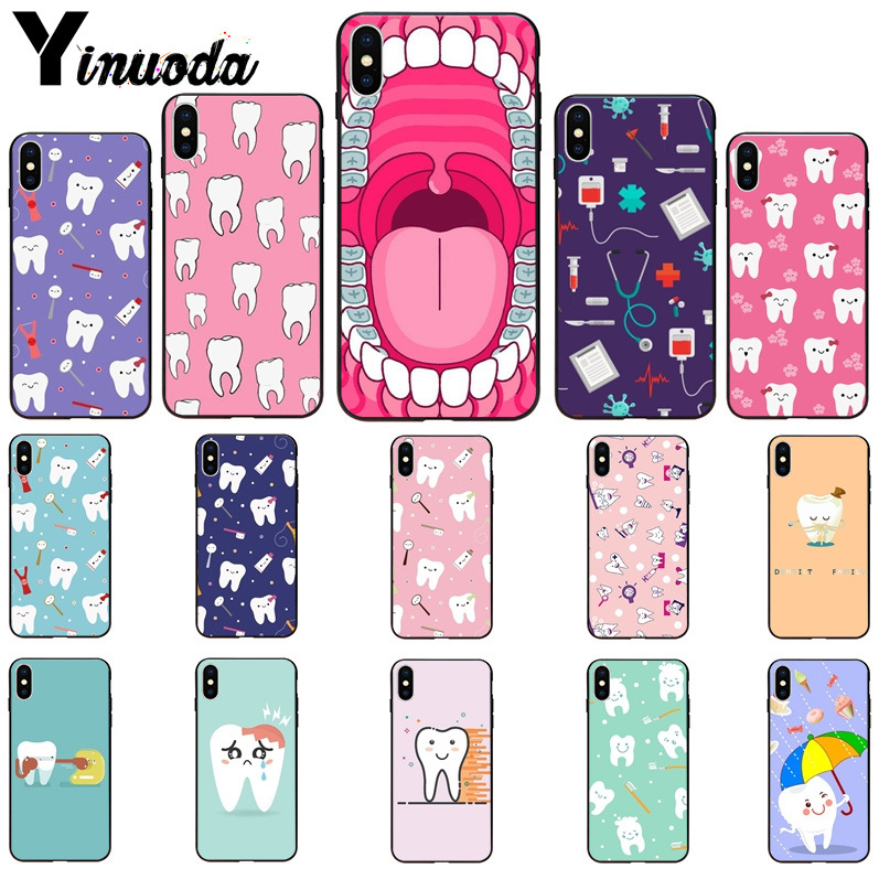 Phone Bags & Cases Babaite Nurse Doctor Dentist Stethoscope Tooth Injections Phone Case For Iphone 8 7 6 6s Plus 5 5s Se Xr X Xs Max 10 Coque Shell
