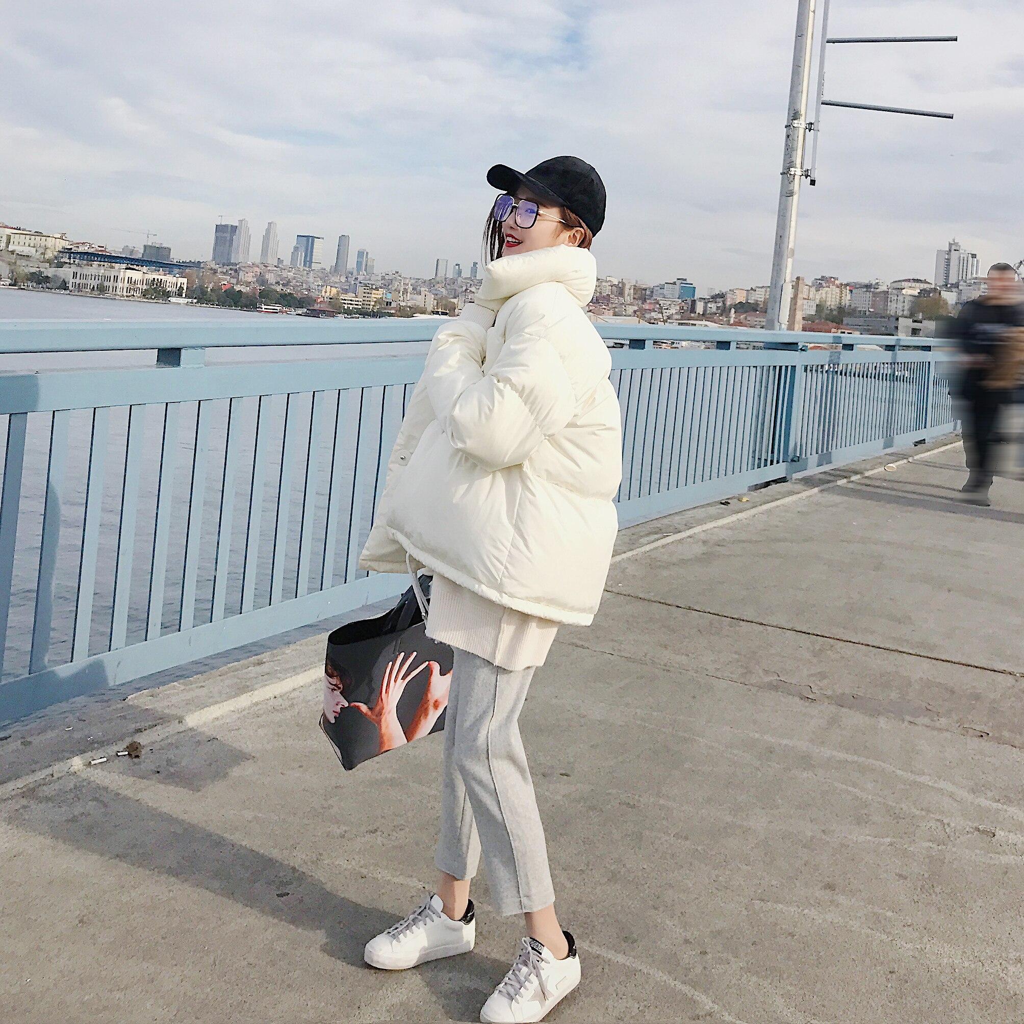 Zvaqs Casual Lx018 Court Manteau Coton Tops Cream Casaco Feminino Veste Rembourré Coréen Survêtement 2018 Hiver colored Chaud Femmes Conception Parka rTvwqrRn