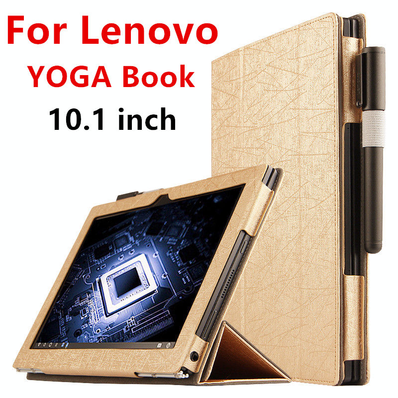 Book Cover Material Yoga : Case for lenovo yoga book protective smart cover faux