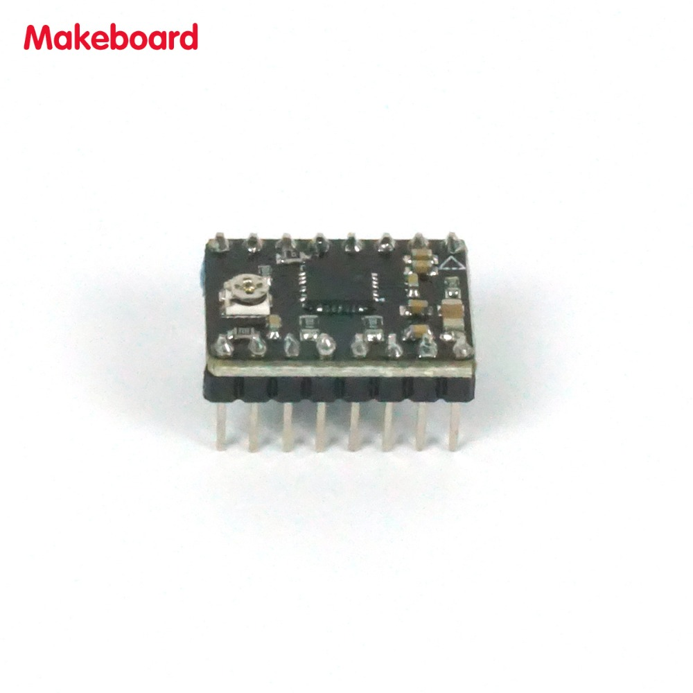 Micromake 3d Printer Parts Makeboard Drive Board Support 128 Picture Of Make A Printed Circuit That Works Microstep Resolution 8 Type Stepper Mode 15a Compatible With A4988 In