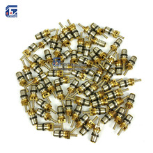 100pcs, Valve Core for Volvo Ford Regal Picasso Citroen Fukang Elysee Mondeo R134a