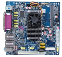 D525P 2 Network Card 6 COM ITX Mini Computer Motherboard HTPC Support WIFI 4 USB Interface